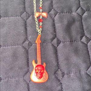 Tarina Tarantino bambino baby red rock necklace